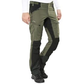 Lundhags Makke Pantaloni lunghi Uomo nero/verde oliva